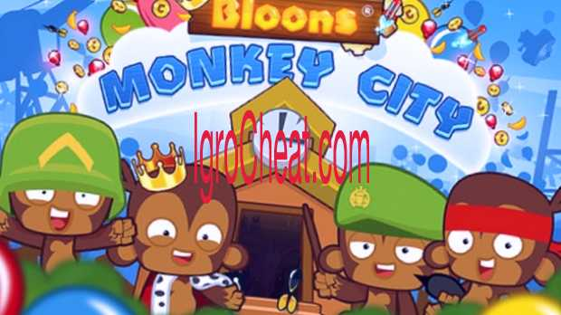 Bloons Monkey City Взлом
