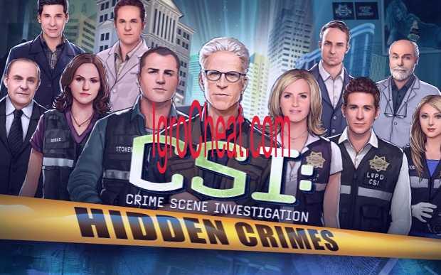 CSI: Hidden Crimes Взлом