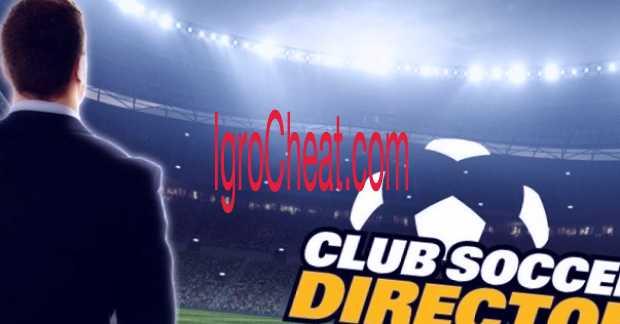 Club Soccer Director 2018 Взлом