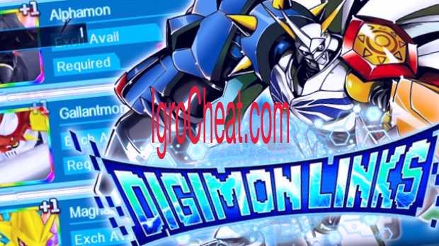 Digimon Links Читы