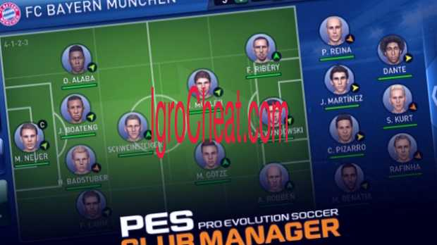 PES CLUB MANAGER Читы