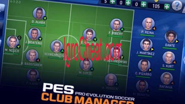 PES CLUB MANAGER Взлом