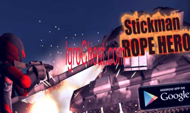 Stickman Rope Hero Читы