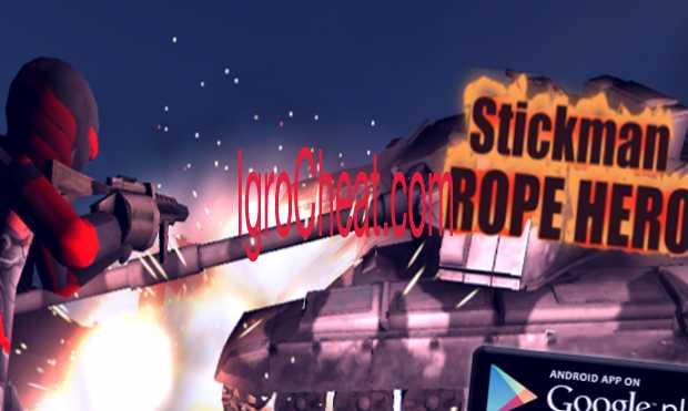 Stickman Rope Hero Взлом